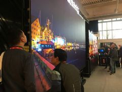 荷兰ISE展:希达电子0.7mm倒装<font color='#FF0000'>COB</font>产品亮相