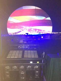 为珠海建市四十周年献礼NEC在海上明珠绽放光芒