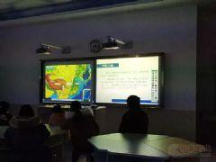 信息技术与教学实践的深度融合,记郴州市十五中学数字化地理专用教室