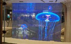 聚焦神器,奥蕾达透明屏让商业中庭秒变顾客焦点