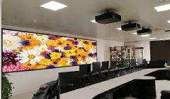 科视HS+dnp硬幕,赢康成就电网激光大屏