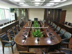 福建省某区委会议室应用雷蒙电子会议系统