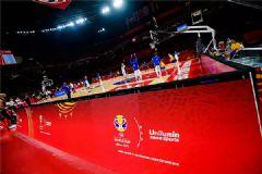 篮球世界杯小组赛,洲明亮相各大赛场
