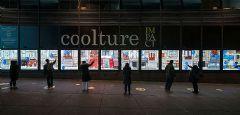 纽约港务局巴士总站<font color='#FF0000'>led</font>视频墙吸引路人互动