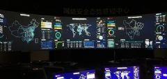 大视台风(<font color='#FF0000'>TYPHOON</font>)系列LED拼接处理器入驻成都某安全公司