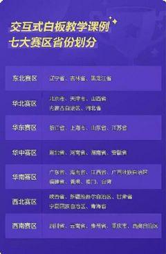 """<font color='#FF0000'>2019</font>年""""希沃名师杯""""赛制升级,七大赛区助您勇夺桂冠!"""