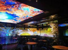 视美乐打造长沙沉浸式全息投影餐厅