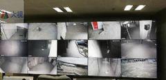 大视拼接处理器应用于成都某商场监控