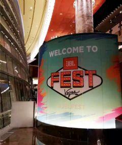 <font color='#FF0000'>JBL</font>FEST在拉斯维加斯引燃橙色风暴
