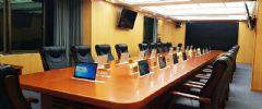 讯维会议系统应用于甘肃省某市政府会议厅!