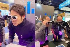 MADGaze携MR眼镜GLOW与骨传导智能手表WATCH亮相<font color='#FF0000'>CES</font>2020