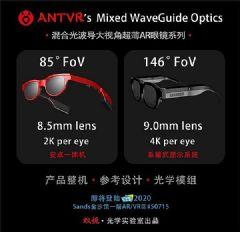 蚁视混合光波导系列<font color='#FF0000'>AR</font>眼镜亮相CES2020