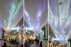 商场点亮绝美天幕,宏�LU-W<font color='#FF0000'>300</font>激光超短焦投影机复刻浪漫星空