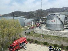 华平为吉林石油化工演练提供技术保障