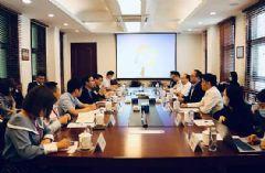 国新文化与中睿信洽谈智慧教育合作