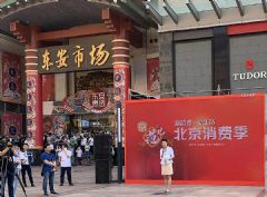 北京市政府与央视搭台启动消费季,选用AET0.7<font color='#FF0000'>8K</font>MTM-FCOB户外直播