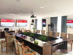 重庆市渝中区党政信息中心信息发布系统选用飞利浦<font color='#FF0000'>BD</font>L3050Q系列