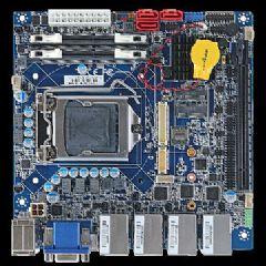 安勤推出<font color='#FF0000'>mini</font>ITX工业级主板EMX-H310P