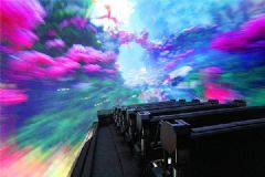 赢康助力首望科技720穿越飞船,成就高沉浸感飞行影院