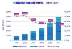 <font color='#FF0000'>2020</font>上半年中国视频云市场规模达到31.6亿美元