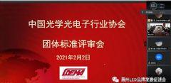 中国光学光电子行业协会九项LED显示团体标准通过专家评审