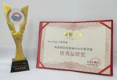 寰视获年度优秀品牌/优秀案例奖