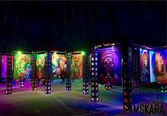 风靡全球SAMSKARA沉浸式艺术展!亚洲首展