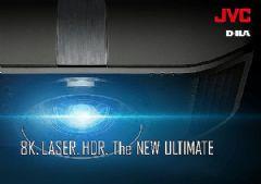 JVC全球首推48Gbps<font color='#FF0000'>8K</font>60P输入家庭影院投影机,搭载混合激光系统