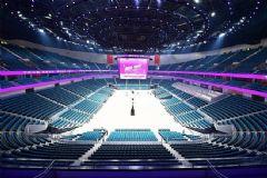 上海三思540m24KLED斗型屏点亮运动会西安奥体中心主体育场场馆