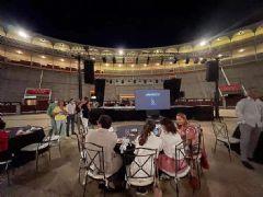 海信激光电视登上西班牙最著名斗牛场