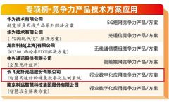 长飞公司荣登通信产业榜、<font color='#FF0000'>5G</font>实力榜等多项行业重磅榜单