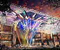 锐拓创意屏帅出新高度——西安老城根Gpark的焦点