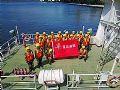 华平应急指挥系统参演深圳消防水上演练