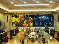微间距LED屏助济南城市水系统监管指挥
