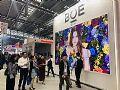 BOE(京东方)2017年盈利75.68亿元同比增幅超300%