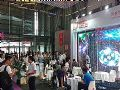 奥蕾达多款创意透明LED屏惊艳2018上海国际LED展全场,载誉而归
