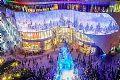 缤纷圣诞季,奥蕾达LED透明屏华丽来袭!