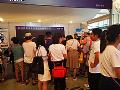 胜龙股份不闪式3D-LED立体显示产品亮相上海科博会