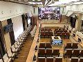彩易达LED显示屏助俄罗斯某会议厅