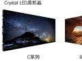 """索尼推出两款新型""""CrystalLED""""黑彩晶显示系统"""